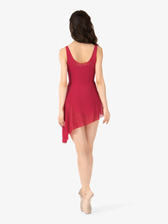 Womens Aymmetrical Hem Tank Ballet Dress