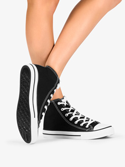 Womens Hi-Top Dance Sneaker
