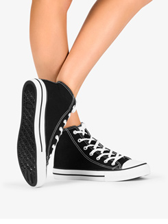 Girls Hi-Top Dance Sneaker