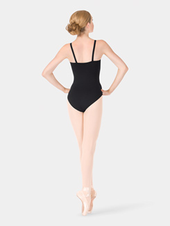 Adult Powermesh Tape Camisole Leotard