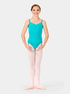 Girls Sandy Triple Strap Camisole Leotard