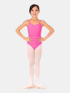 Child Fancy Back Camisole Leotard