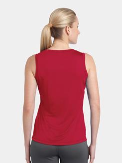 Ladies Sleeveless V-Neck T-Shirt