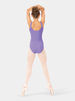 Adult Brushed Cotton Tank Leotard