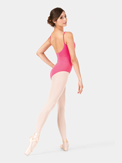 Adult Brushed Cotton Camisole Leotard