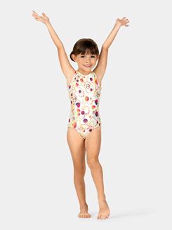 Child and Toddler Boatneck Tank Gymnastics Leotard