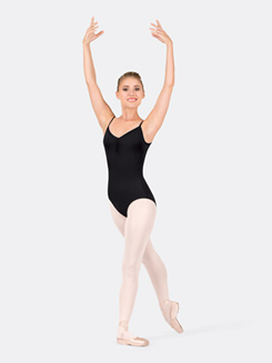 Adult Camisole Leotard with 6-Strap Back