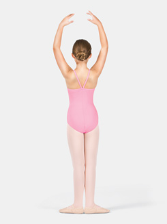 Girls Camisole V-Strap Back Leotard