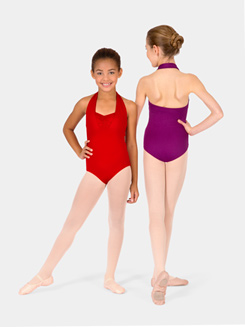 Child Double Halter Leotard