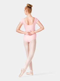 Adult Princess Seam Cotton Cap Sleeve Leotard