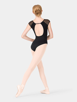 Adult Lace Cap Sleeve Leotard
