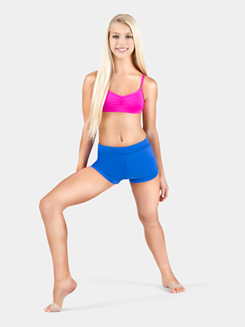 Girls Boy-Cut Banded Dance Short