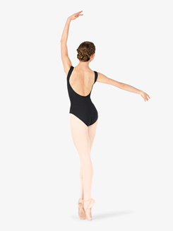 Womens Deep Back Tank Leotard