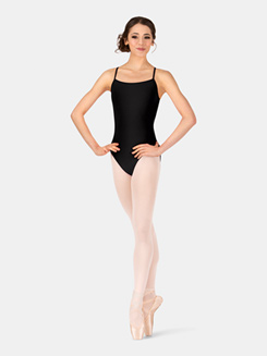 Adult Zig Zag Back Camisole Leotard