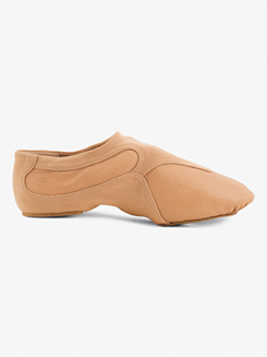 Girls Motion Leather Jazz Shoes