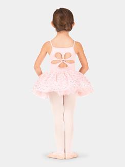 Child Sequin Pleated Mesh Tutu Skirt