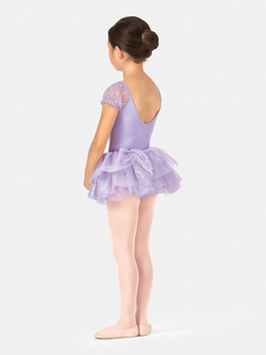 Girls Sequin Tulle Tutu Skirt