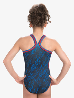 Girls Marvel American Shield Leotard