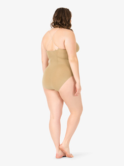 Adult Plus Size Camisole Leotard