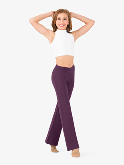 Child Cotton V-Front Jazz Pant