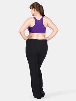 Adult Plus Size Cotton V-Front Jazz Pant