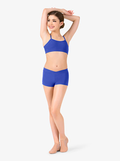Adult V-Waist Dance Short