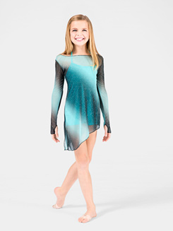 Child Mesh Tunic with Glitter