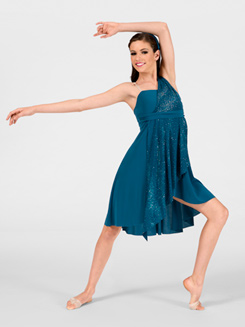 Adult Asymmetrical Lyrical Dress