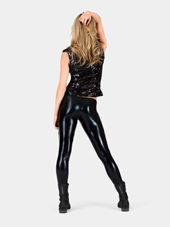 Adult Sequin Motorcycle Vest