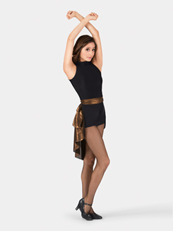 Adult Showtime Tank Unitard with Bustle