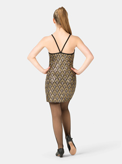 Adult Sequin V-Back Camisole Dress