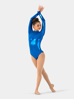 Adult Metallic Mystique Long Sleeve Leotard