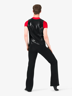 Boys Metallic V-Front Performance Vest