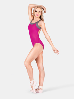 Adult Double Strap Back Tank Dance Leotard