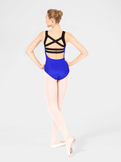 Elastic Back Adult Tank Leotard