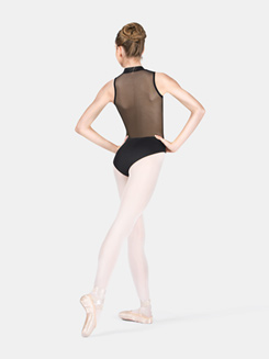 Adult Mesh Back Tank Leotard
