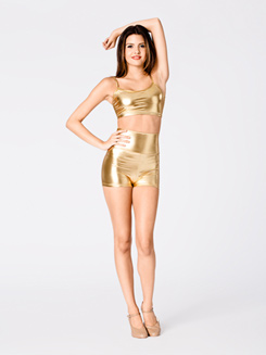 Adult Metallic Bra Top
