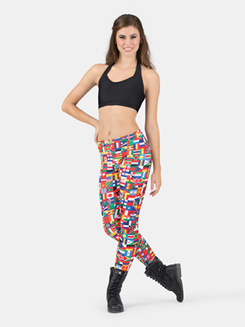 Adult International Flag Legging