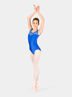 Adult Tank Power Mesh Leotard