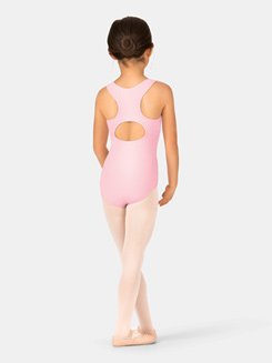 Girls Tank Keyhole Cutout Leotard