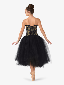 Adult Fasten Back Romantic Tutu