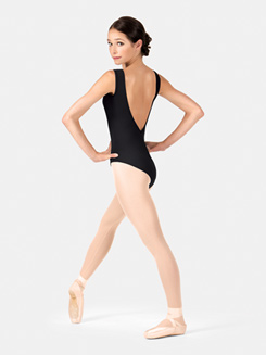 Adult Tank Plunging Back Leotard