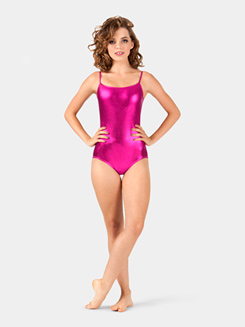 Adult Metallic Camisole Dance Leotard