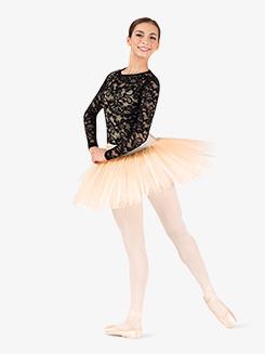 Womens Short 4-Layer Ballet Tutu Skirt