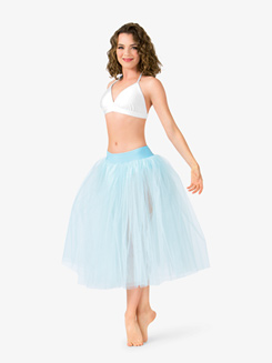 Womens Romantic Length Ballet Tutu Skirt