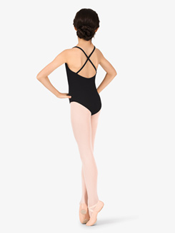 Studio Collection Girls Crisscross Back Cotton Leotard