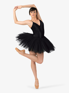 Womens Camisole Professional Platter Tutu Dress