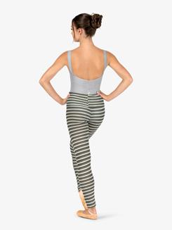 Womens Knit Warm Up High Waist Leggings