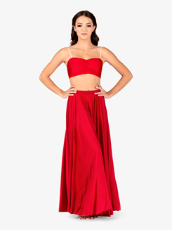 Womens Lyrical Flow Long Skirt