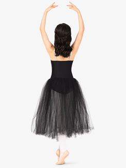 Girls Sequin Insert Juliet Camisole Performance Tutu Dress